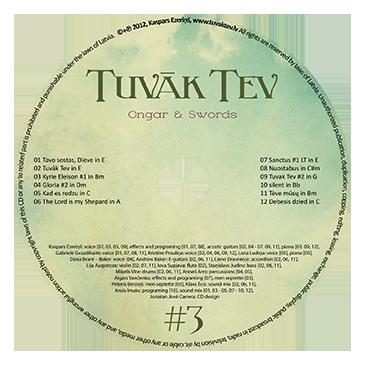 Ongar & Sword #3 CD